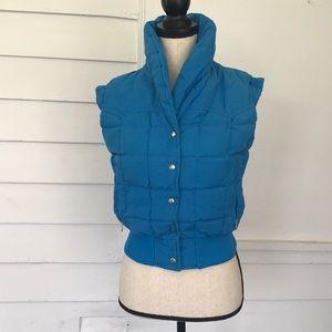 Robbe Ski wear vintage cropped down puffer vest